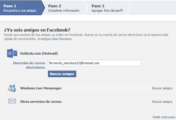 registro facebook 1er paso