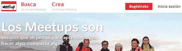 meetup inicio