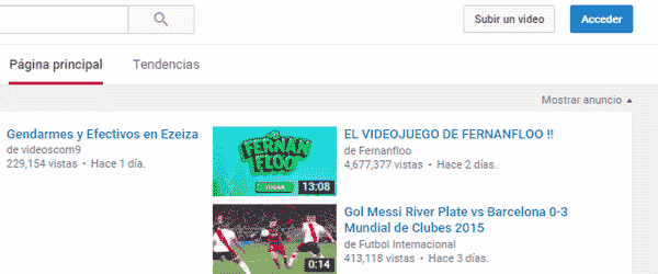 registrarse en youtube