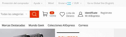 registro aliexpress paso 1