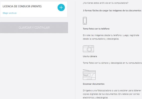 documento uber