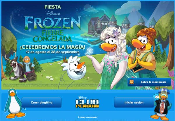 club penguin registro