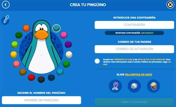 club penguin juego